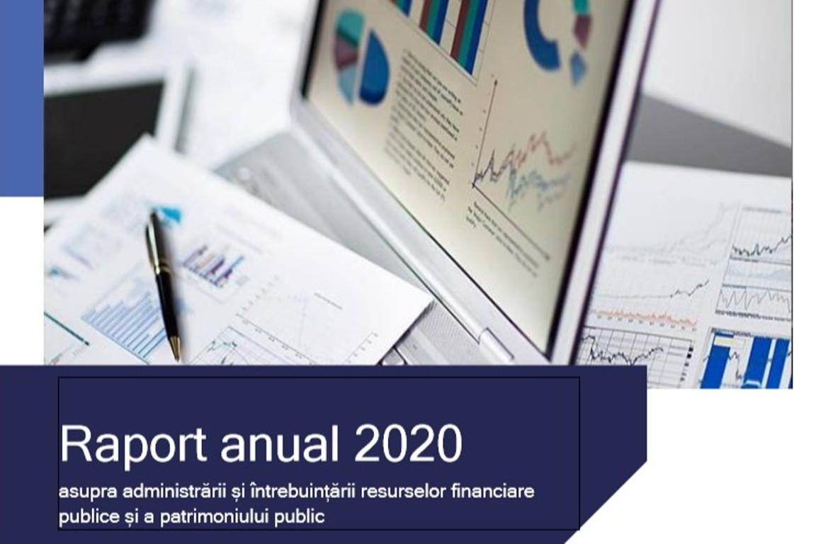 Curtea de Conturi a Republicii Moldova (CCRM) a publicat Raportul anual 2020, care conține analiza și generalizarea informației privind modul de formare, administrare și de întrebuințare a resurselor financiare și a patrimoniului public aferente ciclului anual de audit (16 septembrie 2020 – 15 septembrie 2021).